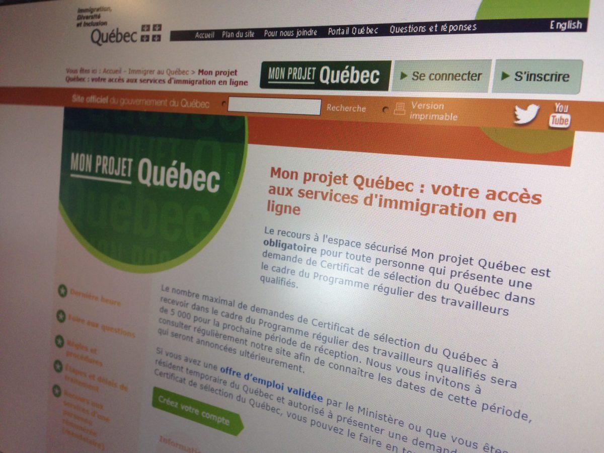 Des nouvelles de Mon Projet Québec !