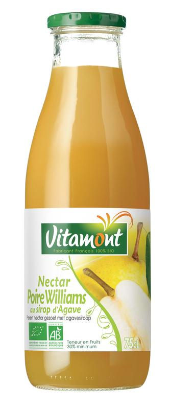 Williams peer nectar met agavesiroop