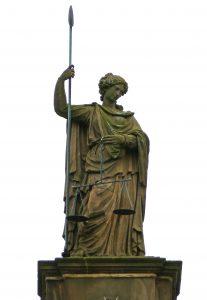 statue représentant la justice