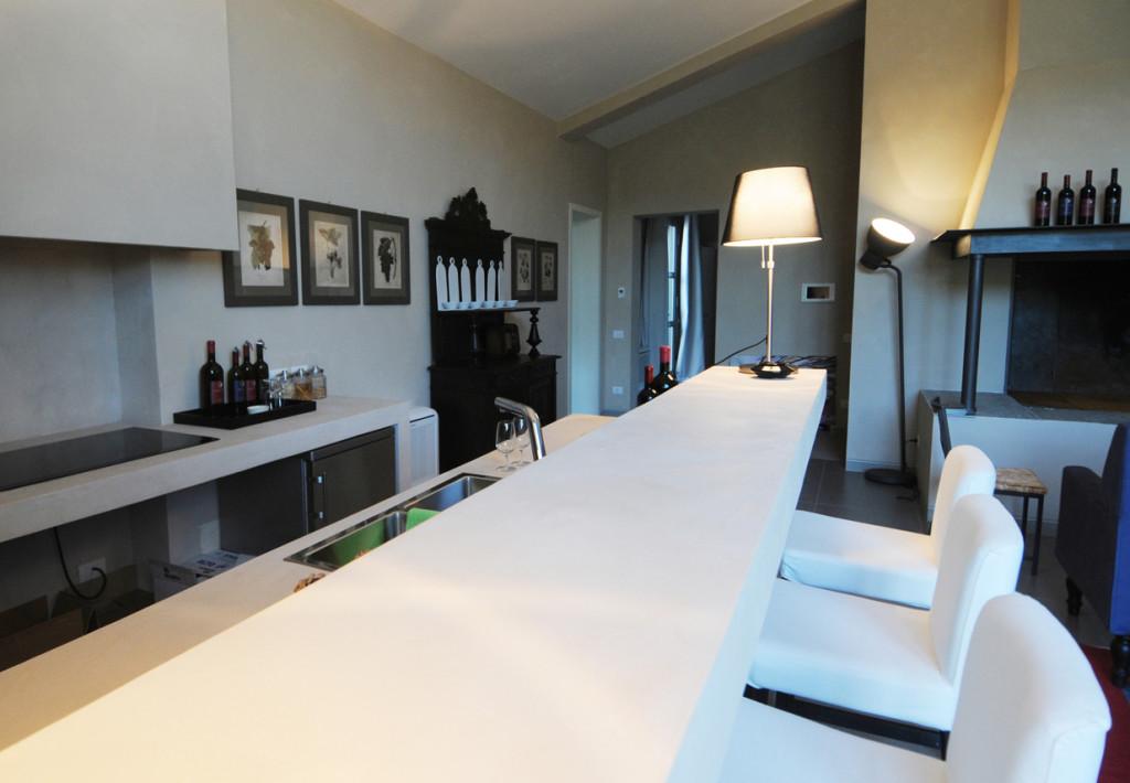 La Vigna sul Mare  Cucina e Salotti