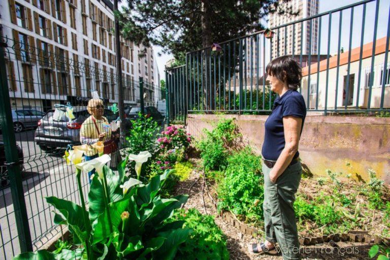 Le jardin d'Eugènie dans le 19ème à Paris