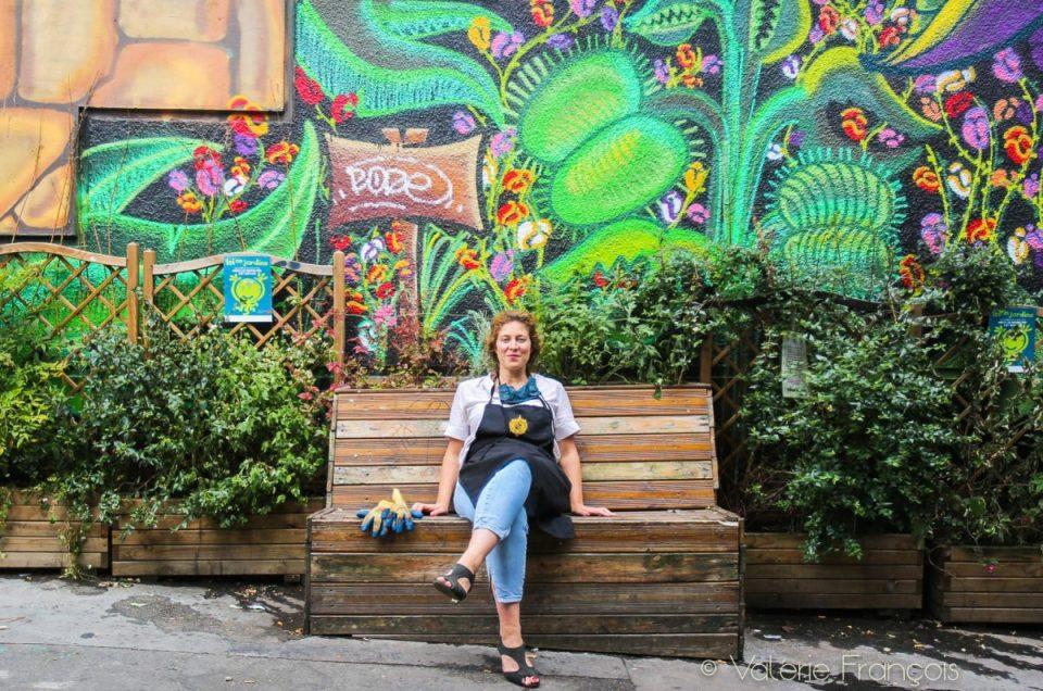 Végétalisation de Paris : rencontre avec Emilie, la fée verte du Village Jourdain