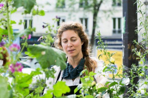 Végétaliser Paris : Emilie Bourgouin à l'initiative du Village Jourdain qui végétalise 20 pieds d'arbres à Paris
