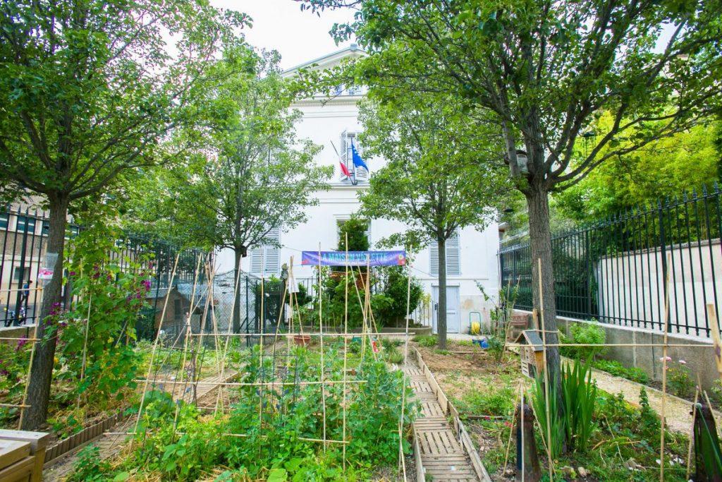 Le jardin partagé de la maison Violette