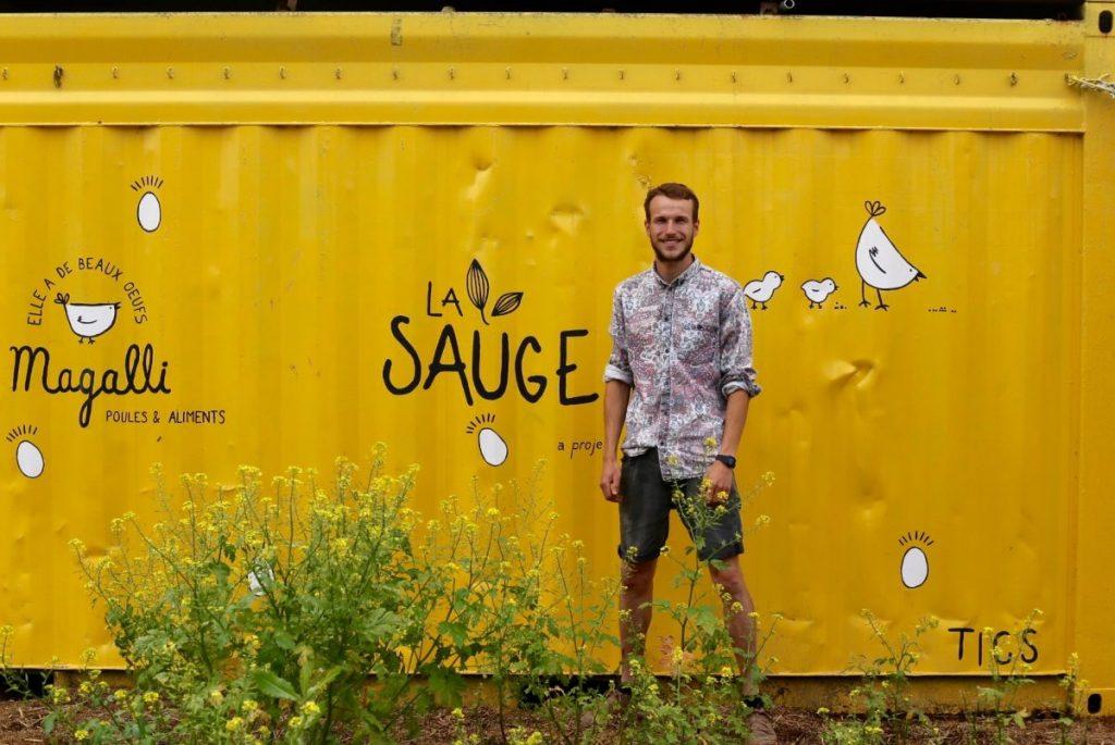 Antoine Devins, co-fondateur de la Sauge