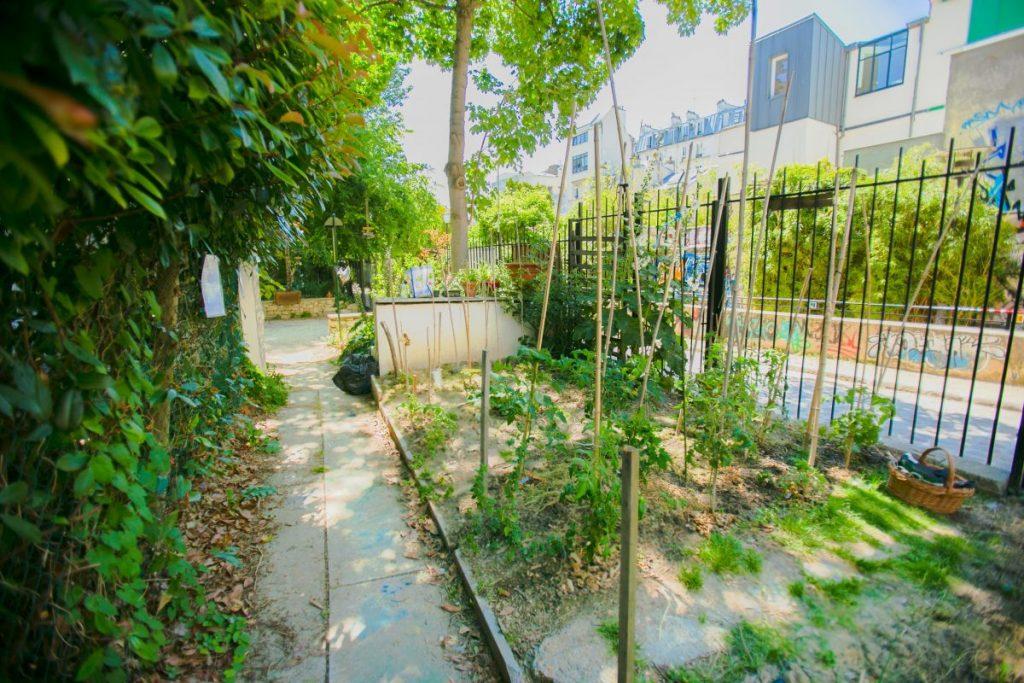 Le jardin des Thermopyles - Paris 14