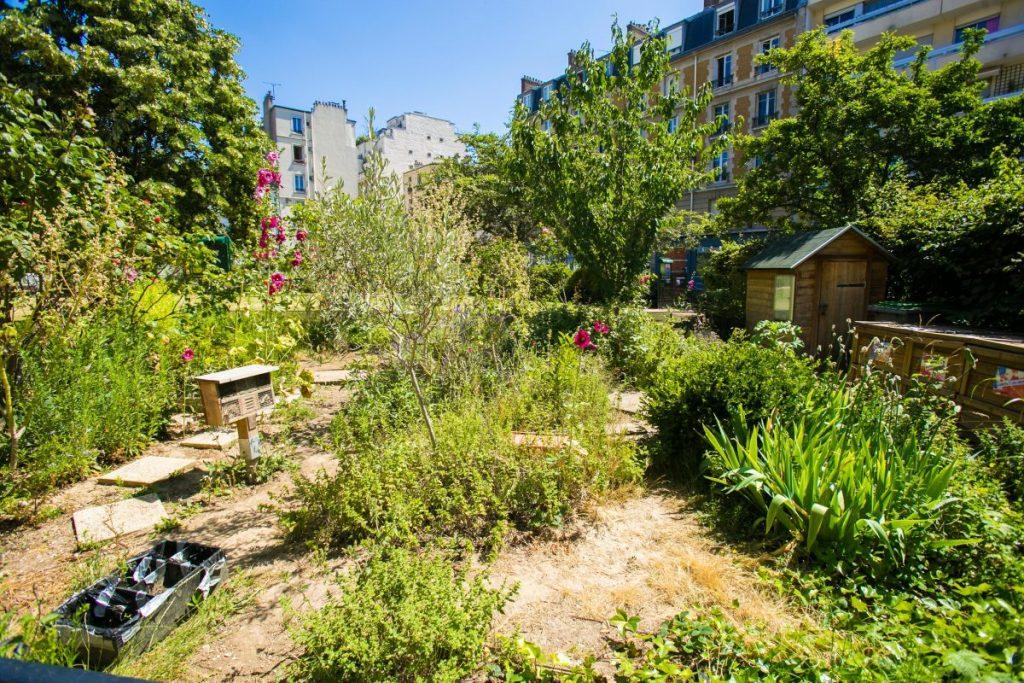 Jardin partagé du Chanoine Viollet - Paris 14