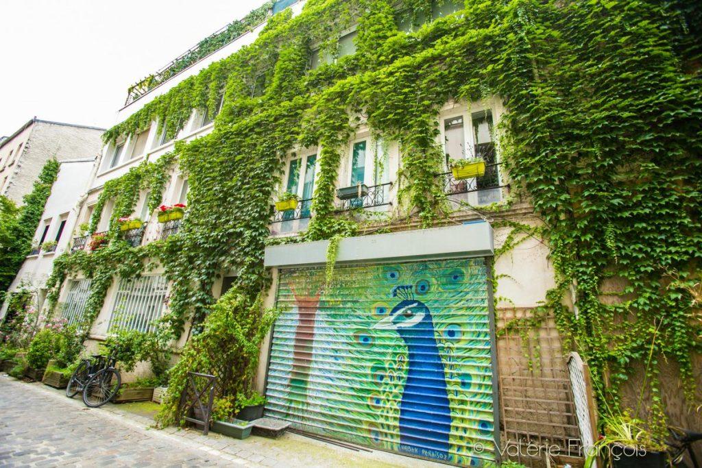 Paris insolite - Impasse Gustave Lepeu