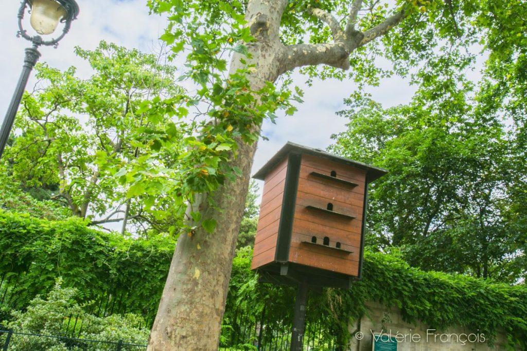 Le pigeonnier du square de la Roquette