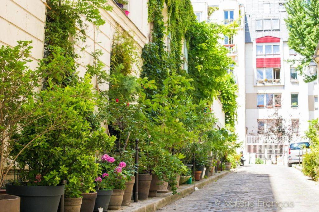 Rue lignier - Paris 20