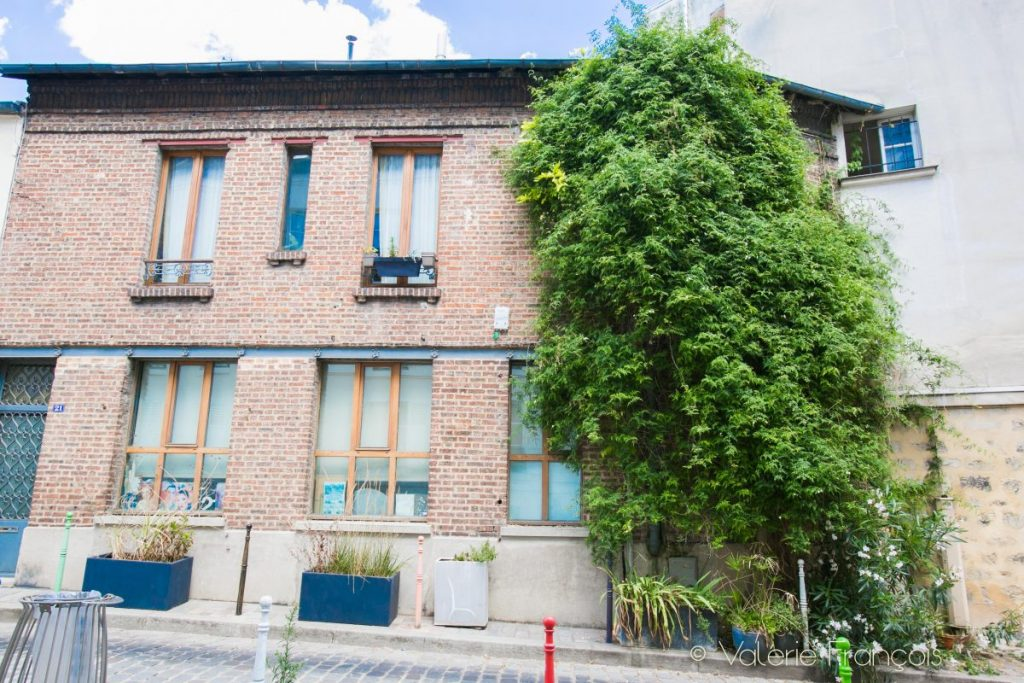 La cité Aubry - Paris 20