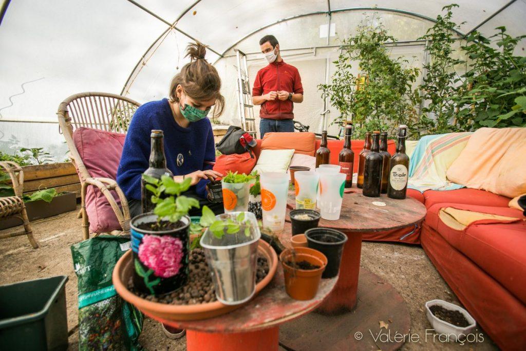 Atelier bouture - jardin du monde - cité universitaire