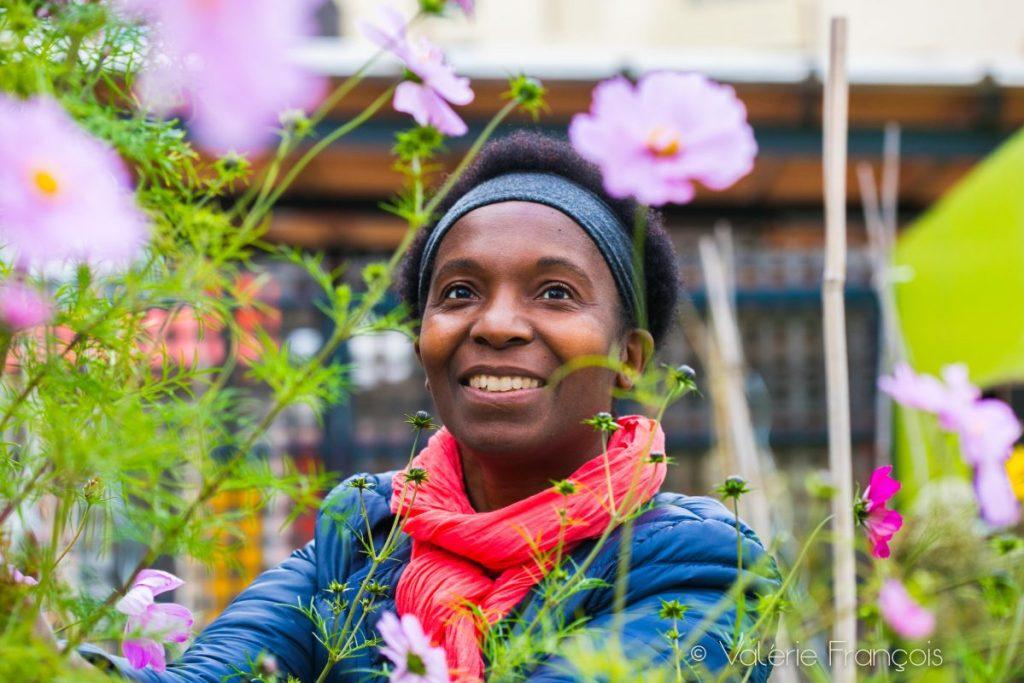 Valery Tsimba veut encourager la pratique du jardinage en ville.