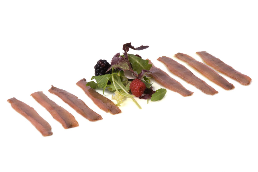 Sanfilippo salted anchovies in virgin olive oil