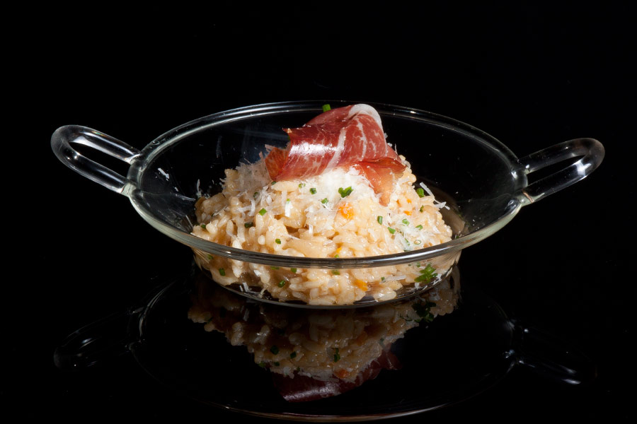 Risotto with Joselito Ham