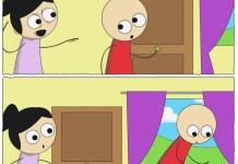 Como salgas por esa puerta
