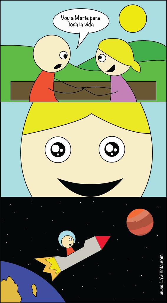 Voy a Marte