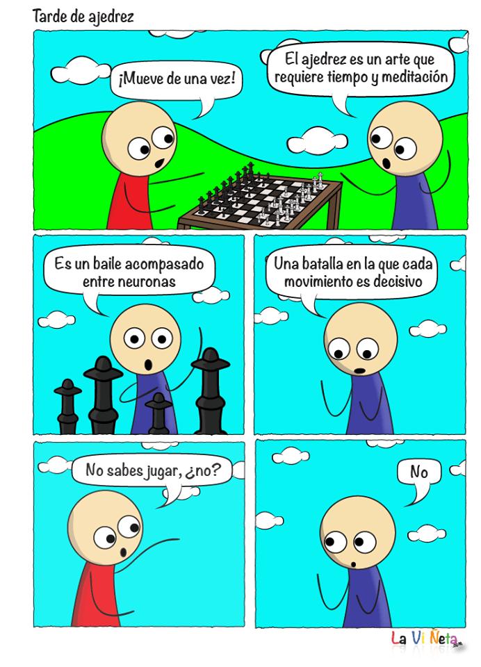 Tarde de ajedrez