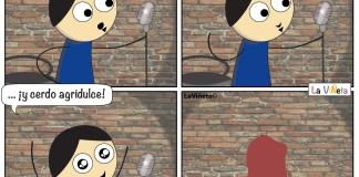 Dos veces animal La Viñeta Webcomic