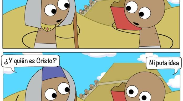Egipto La Viñeta Webcomic