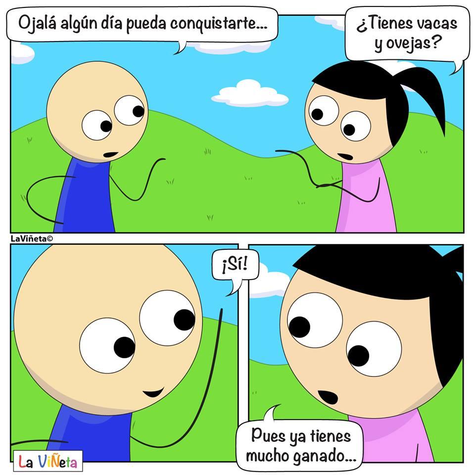 Como conquistar a una chica La Viñeta Webcomic