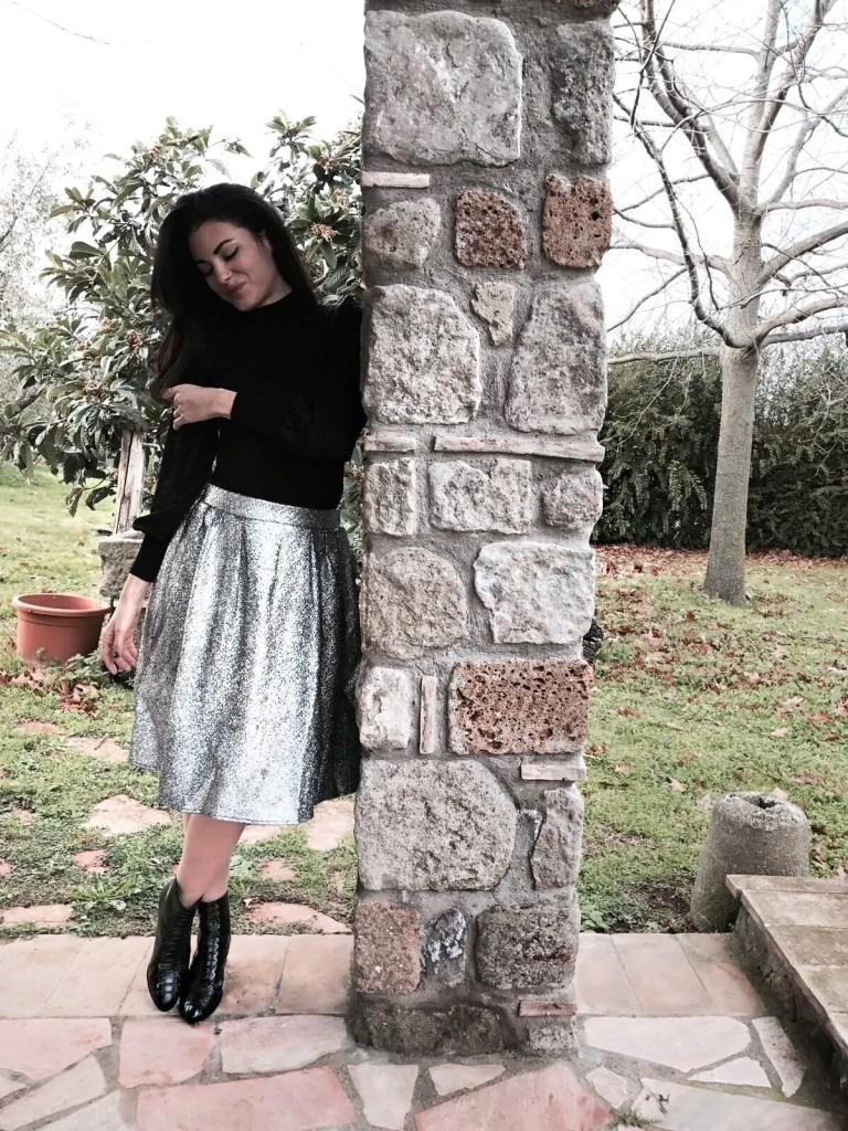 La bella Lavinia Guglielman foto all'aperto per Zalando