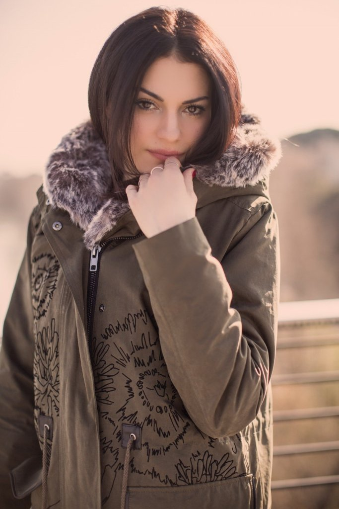 Lavinia Guglielman look Desigual