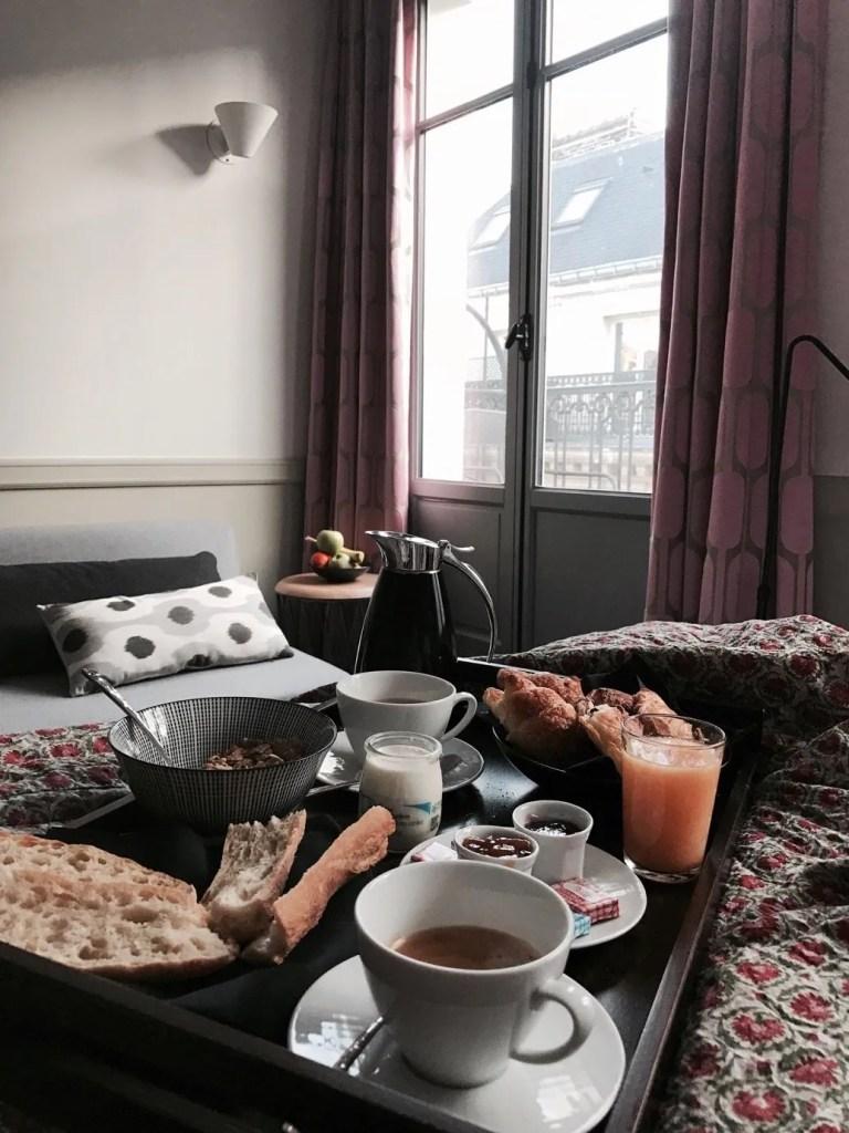 Colazione in camera Hotel Adele e Jules Parigi