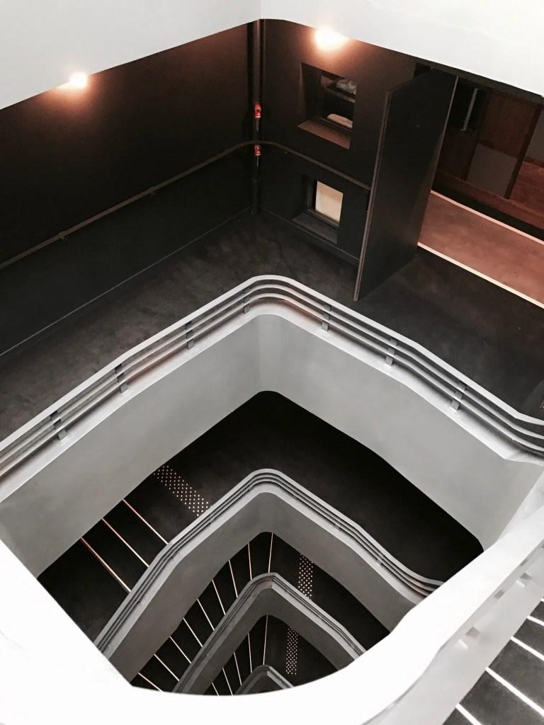 Interno scale dell'hotel Paris Bastille Boutet