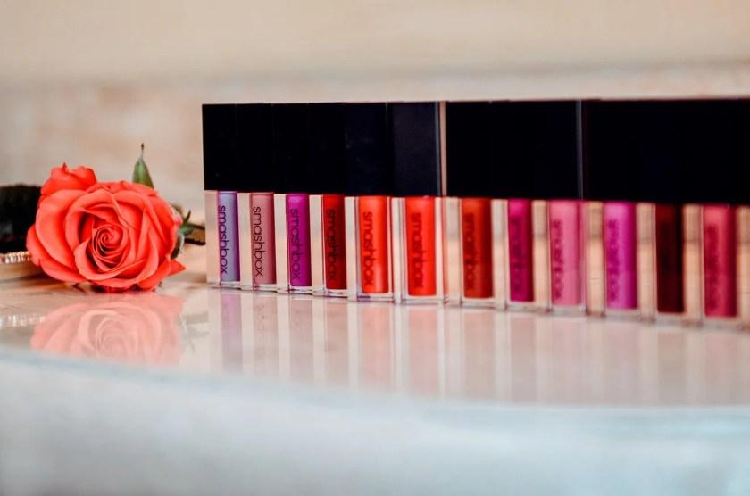 Tutti i lipstick della linea Smashbox