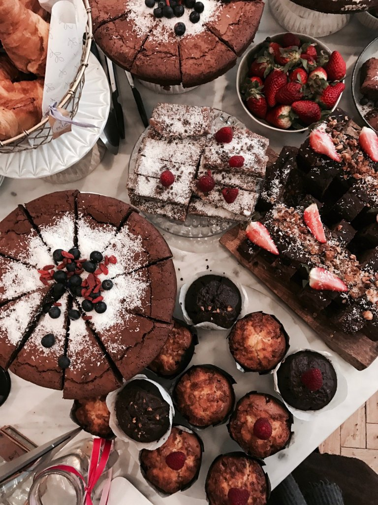 Torte e muffin al Pluk di Amsterdam