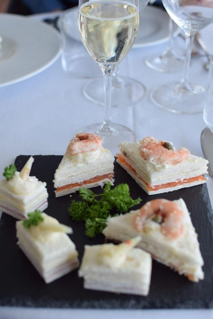 Tartine al ristorante dell'hotel Voce del Mare