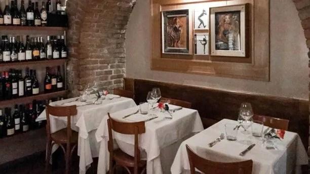 Sala interna Ristorante Il Gabriello a Roma dove mangiare assolutamente