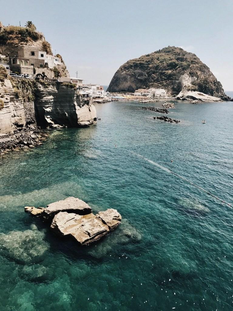 Ischia, splendido scorcio del Mare