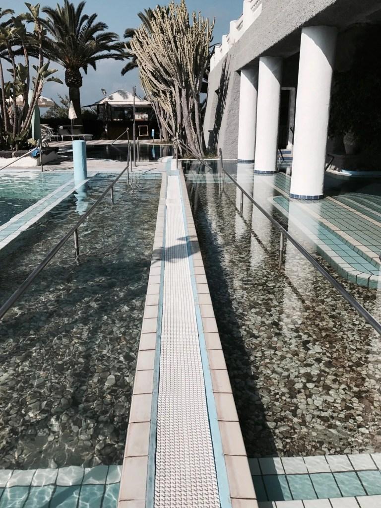 Percorso di benessere Kneipp al Romantica Hotel di Ischia