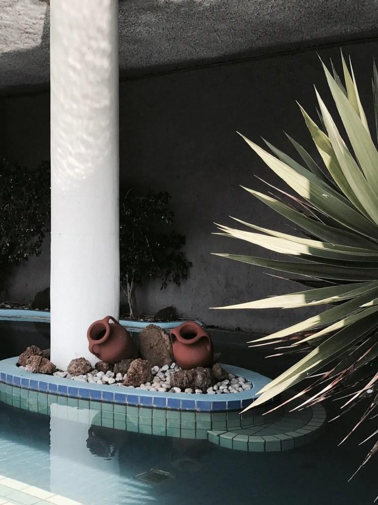 La piscina termale a 40 gradi del Romantica Hotel
