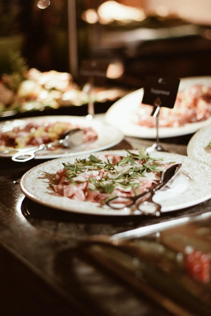 colazione a buffet al Quelle Hotel Resort e Spa