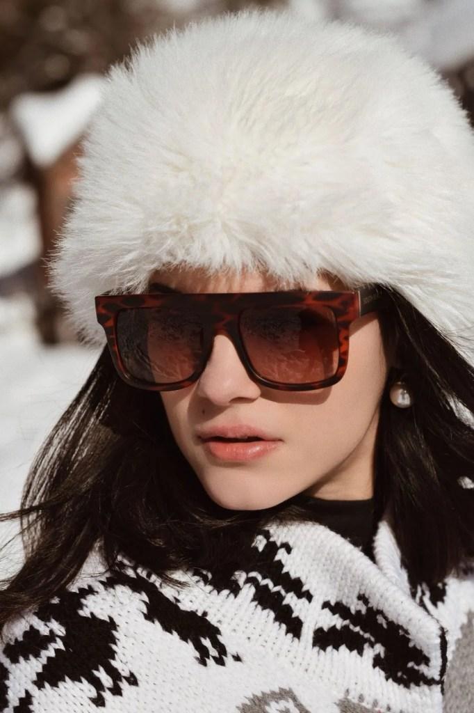 Lavinia Guglielman sulla neve