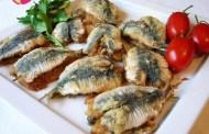 Sardine ripiene e Vermentino di Sardegna