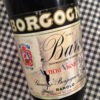 Barolo Riserva 1967 Borgogno