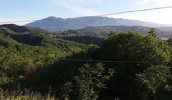 Il paesaggio intorno a Chianche