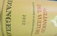 VINerdì Igp, il vino della settimana: Aglianico del Vulture 2012 D'Angelo