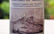 Lacryma Christi del Vesuvio Bianco Territorio de' Matroni 2015