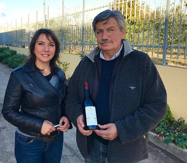 Carmen Guerriero con Beniamino Faccilongo
