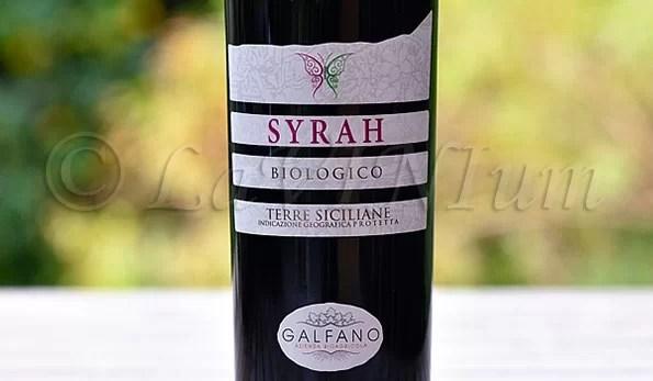 Syrah 2016 Galfano Bioagricola
