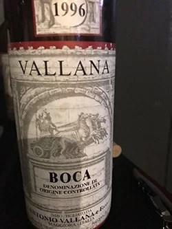 Boca 1996 Vallana