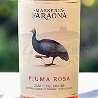 Castel del Monte Rosato Piuma Rosa 2016 Masseria Faraona