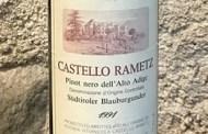 Alto Adige Pinot Nero 1991