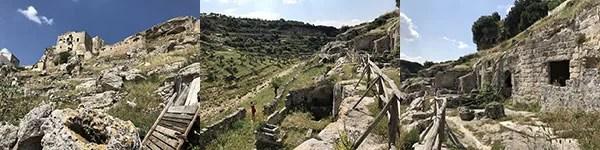 Gravina di Ginosa, villaggio rupestre di Rivolta