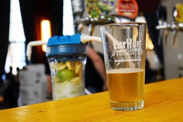 Eurhop bicchiere